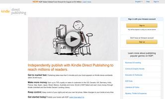 Amazon Kindle Direct Publishing, Amazon Book Publishing, Make Money by Publishing Book in Amazon