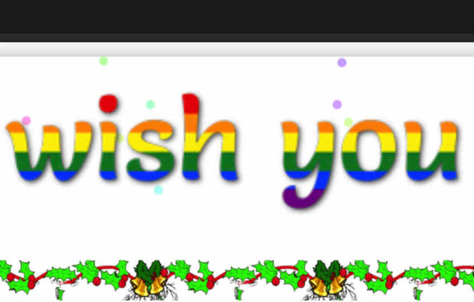 Beware of Wish-you co scam New Year, Christmas Greeting malicious website