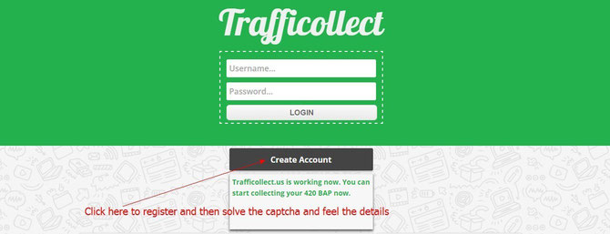 Click here to join Trafficollect if you decided to join it after reading our detail review on Trafficollect