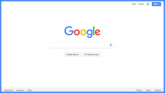 How to get first page in Google?