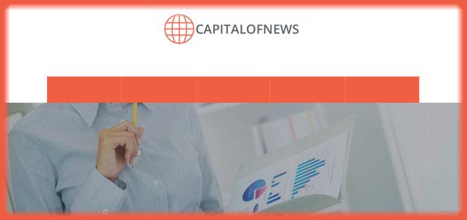 What is CapitalofNews.com? CapitalofNews.com review. Is CapitalofNews scam or legit? CapitalofNews reviews. CapitalofNews complaints.