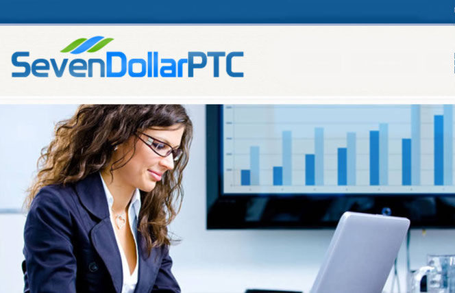 What's Seven Dollar PTC, Is Seven Dollar Click a scam, yep it is but, Seven Dollar Click and Seven Dollar PTC are not same sites, anyway, both are scams, Seven Dollar PTC review